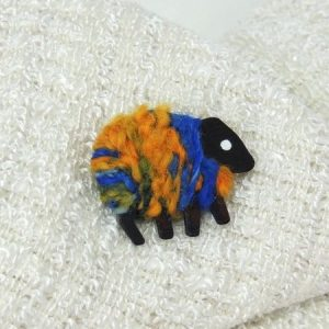 LizzyC|Sheep|Pin|Hazel|blue_gold