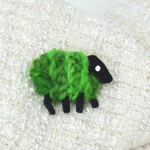 patricia green irish sheep pin 