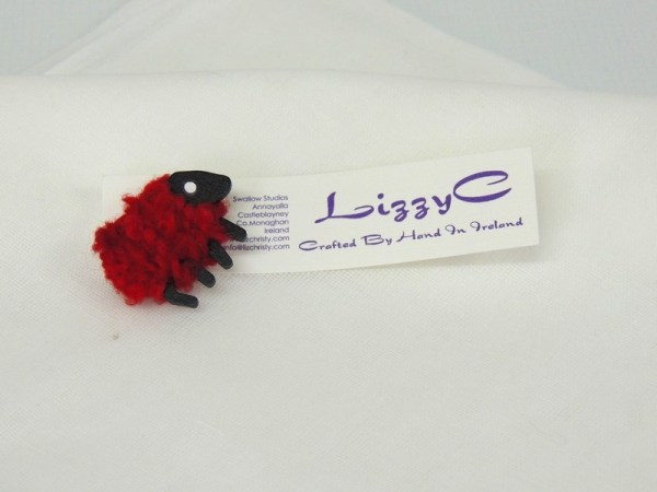 LizzyC Sheep Brooch
