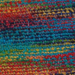 detail-irish-wool-scarf-waterlillies-mardigras