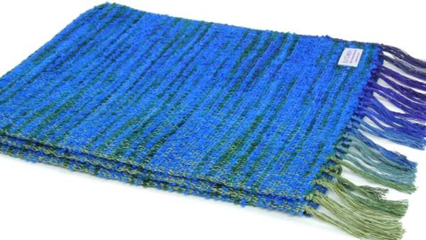monet-bouclekhwaterlillies lazuli blue
