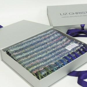 liz-christy-waterlillies-slate-small-scarf-boxed