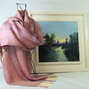 liz-christy-scarf-kate-beagan-painting