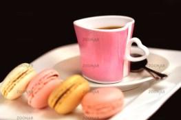 Passion für Macarons und Espresso