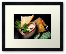 Love 4 Champignon Soup With Strudel Chips© Liz Collet