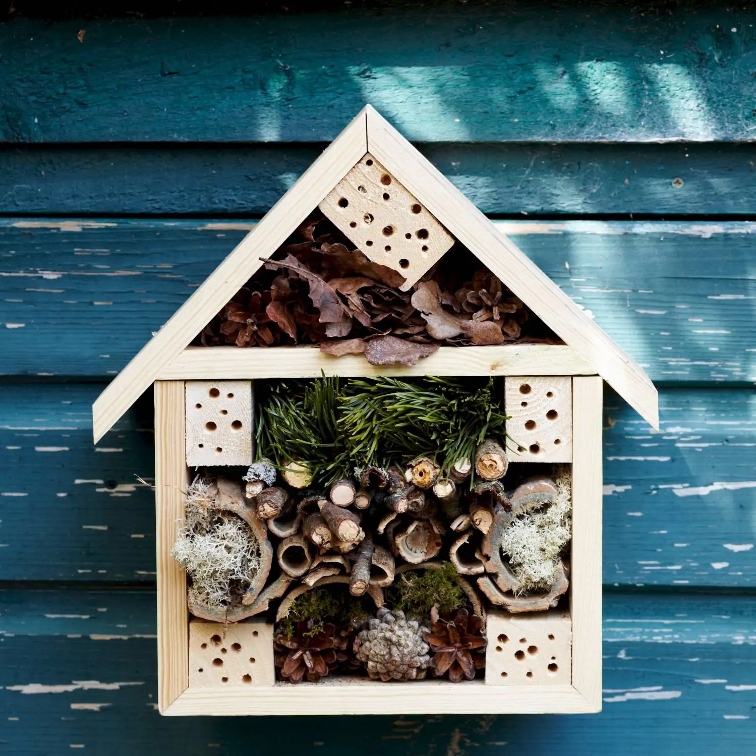 How to make a bug hotel from Liz Earle Wellbeing