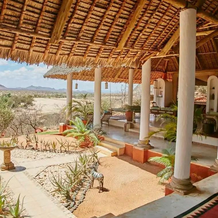 Reception at Sasaab Lodge