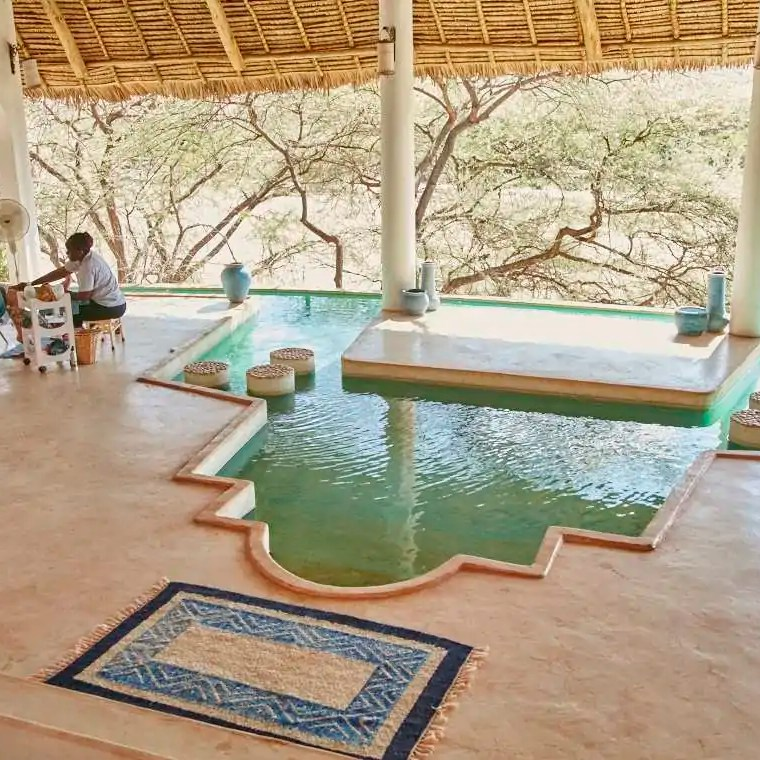 Spa Sasaab Lodge