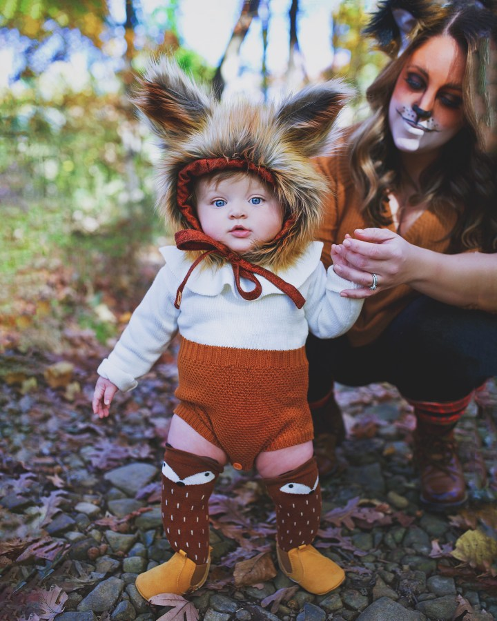 into the fox's den: there's beauty in baby's first halloween