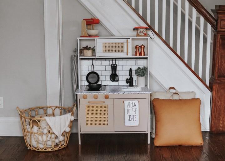 Ikea DIY Play Kitchen Makeover!