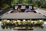 Bridal Car Deco - Back