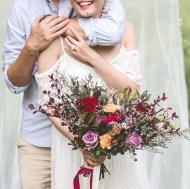 Rustic Bridal Bouquet, Rustic Wedding Singapore, Autumn Bouquet, Liz Florals