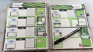Erin Condren Horizontal Plan With Me Aug WE 32