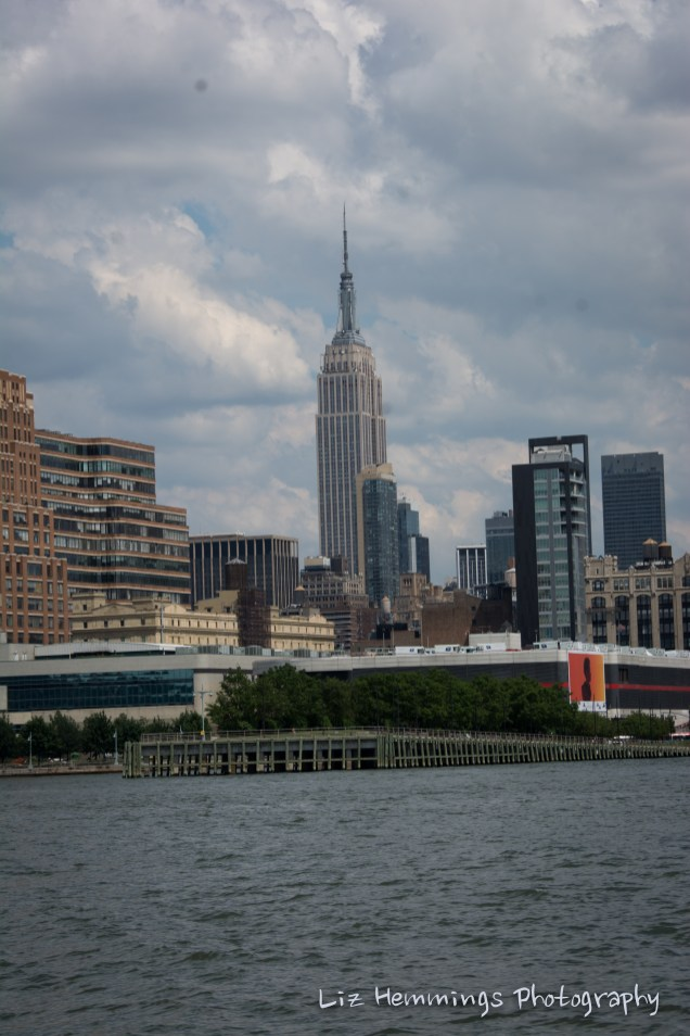 Empire State Building from Hudson River