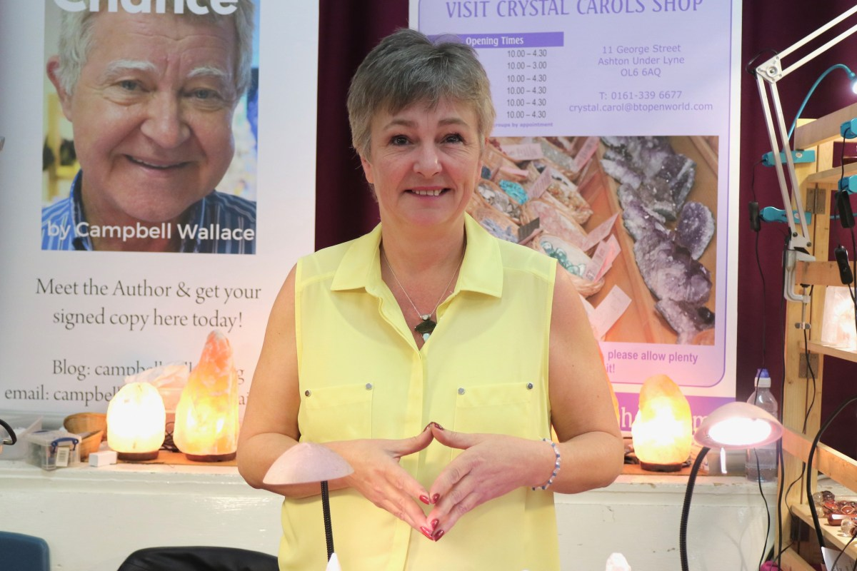 Carol Wallace's-  Crystal Healing Workshop