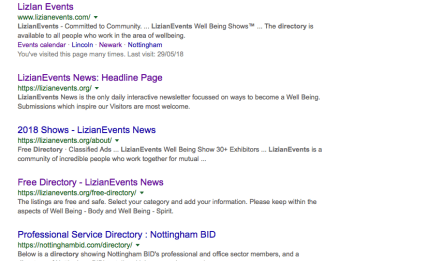 LizianEvents Directory
