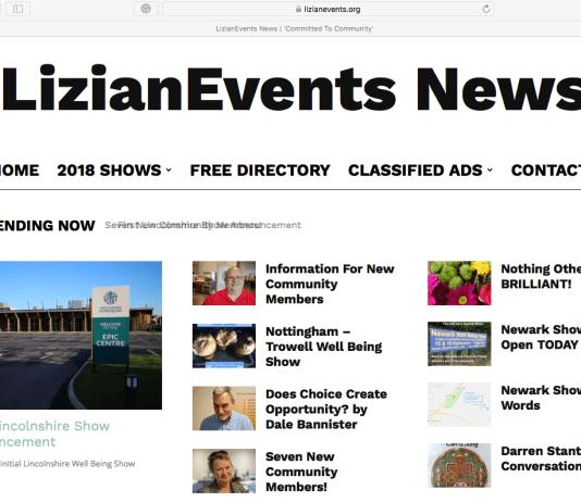 Len Front Page : LizianEvents