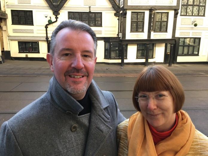 Barrie John and Liz Clark: LizianEvents: Lizian Events