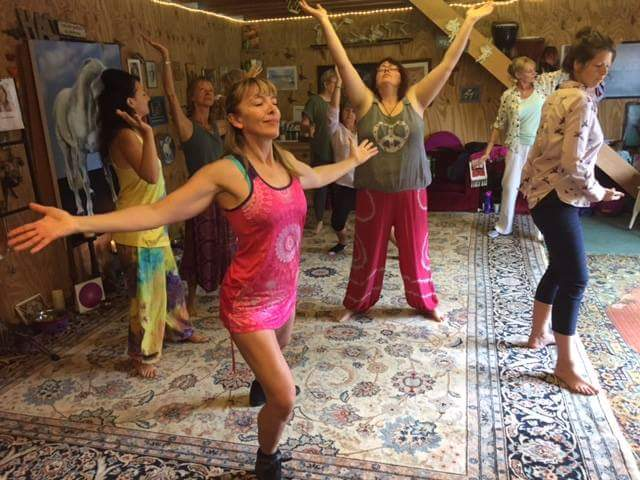 Chakra Dancing: Jules Wheat: LizianEvents