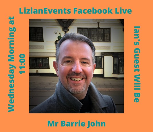 Barrie John: LizianEvents Ltd