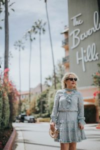 Lifestyle blogger, the beverly hills