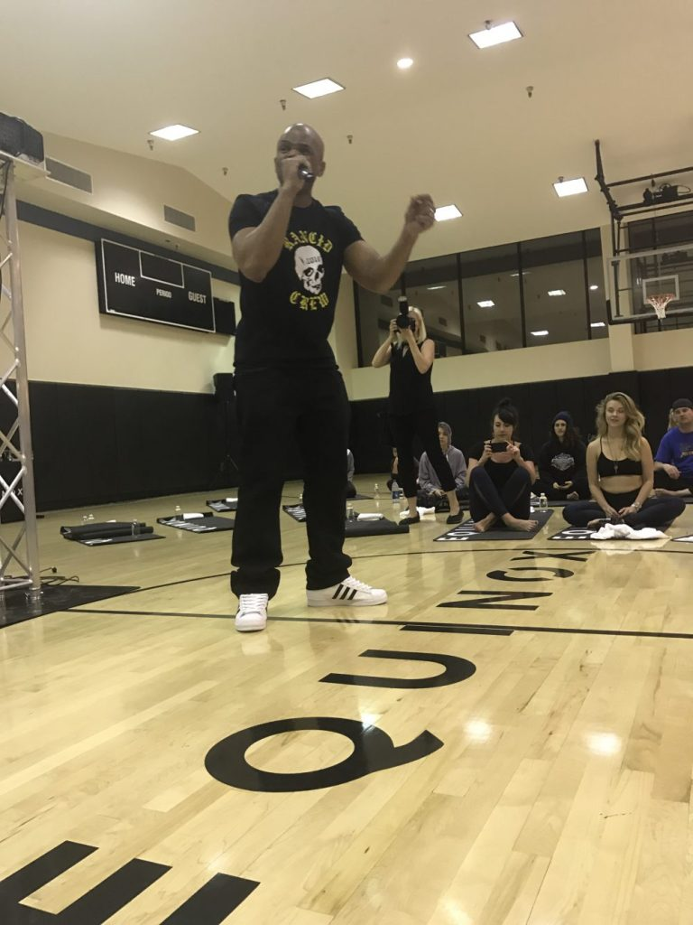 Hip Hop Yoga Charity Class by Liz in Los Angeles, Los Angeles Lifestyle Blogger