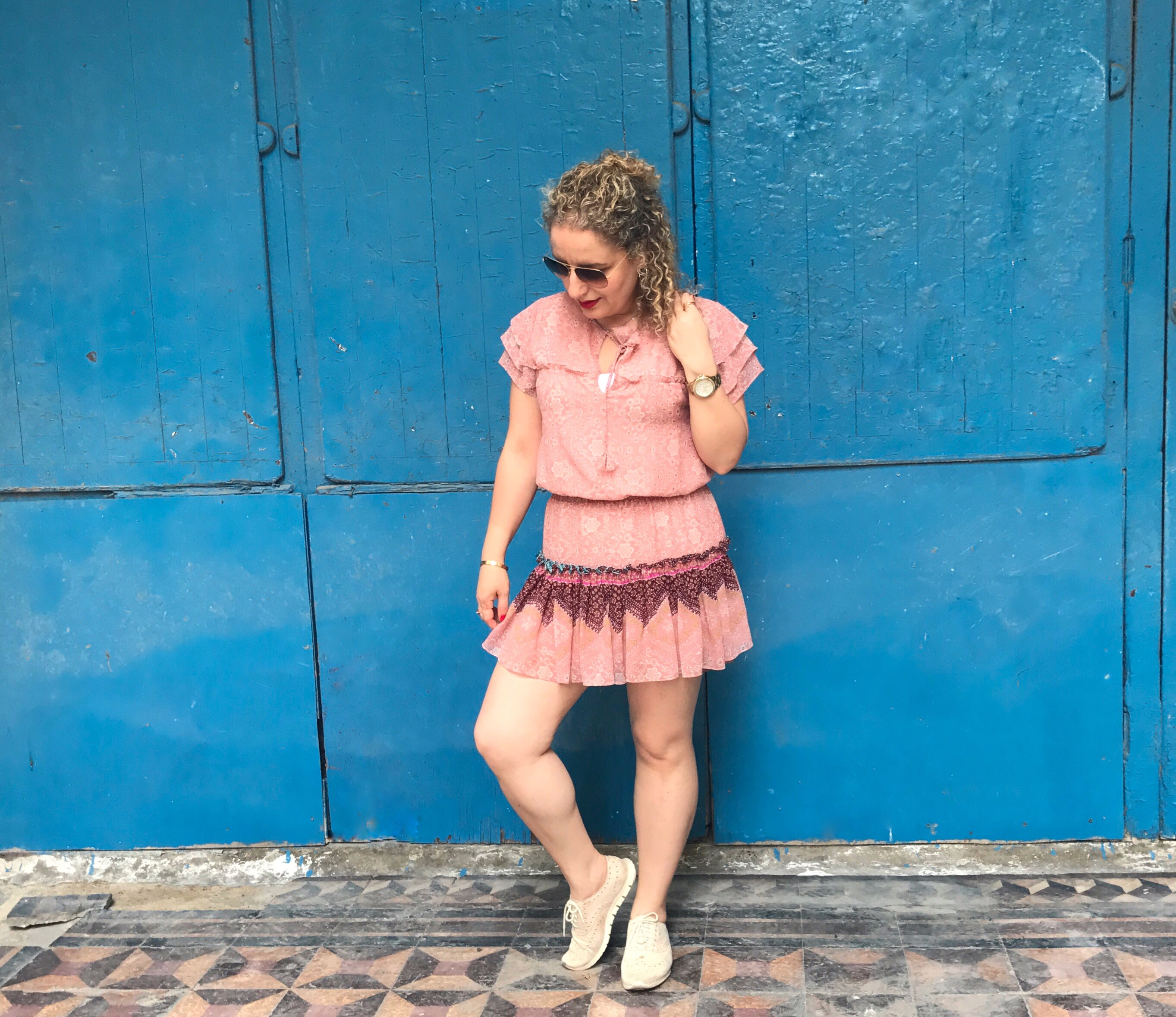 Gibraltar Travel Style in Misa Los Angeles Dress