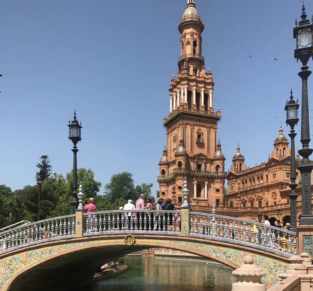 Palace Hopping & Travel Style in Seville, Spain