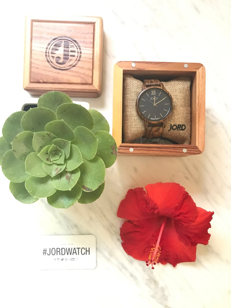Currently Loving: JORD Wooden Watch  + GIVEAWAY