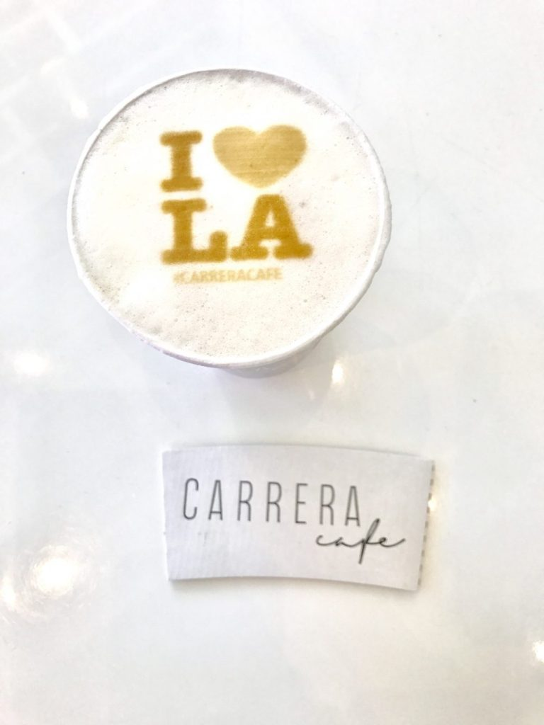 Carrera Cafe, The Best Latte Art Cafe in Los Angeles