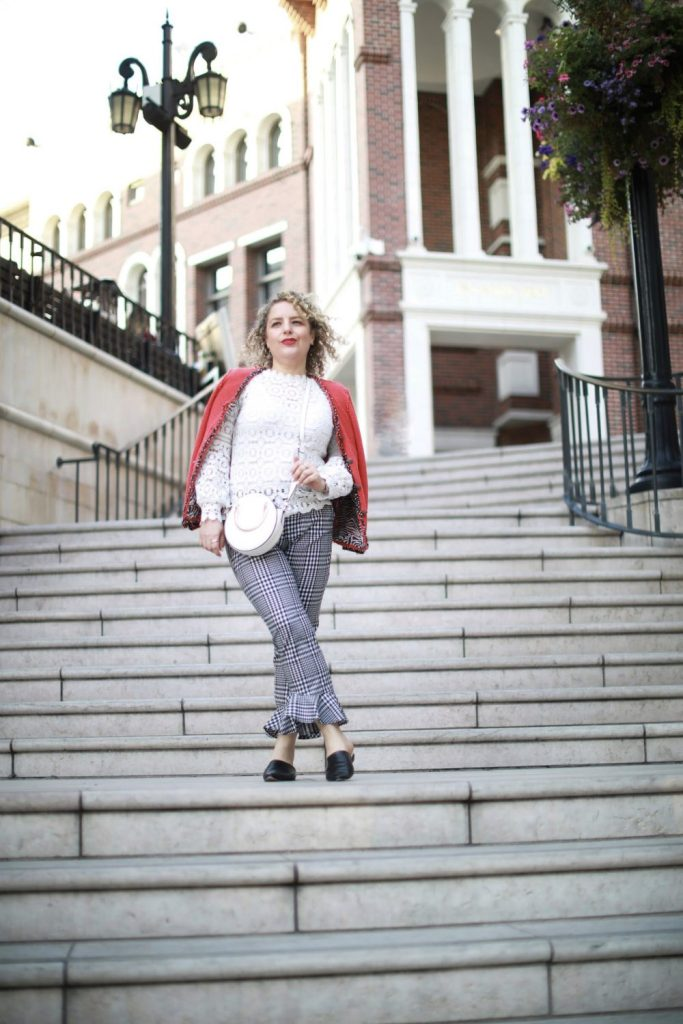What I Wore to A Fashion Interview of Trina Turk