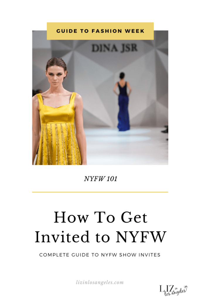 Guide o NYFW by Liz in Los Angeles, Los Angeles Lifestyle Blogger