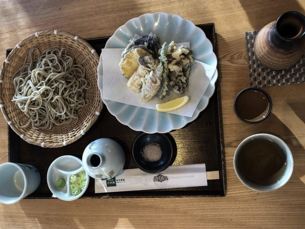 Vegetarian Food to Try in Japan, a blog post by Liz in Los Angeles, Los Angeles Lifestyle Blogger: an image of soba