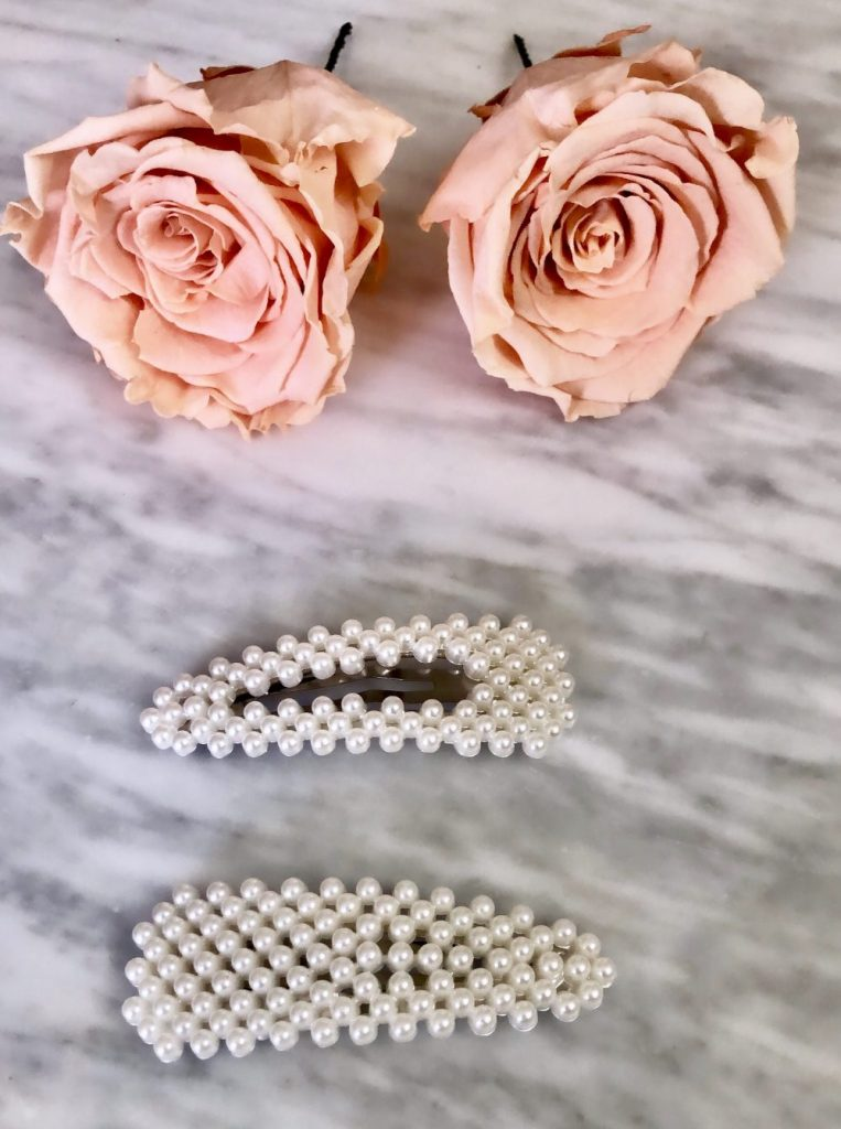 Affordable Pearl Hair Clips Curated by Liz in Los Angeles, Los Angeles Blogger
