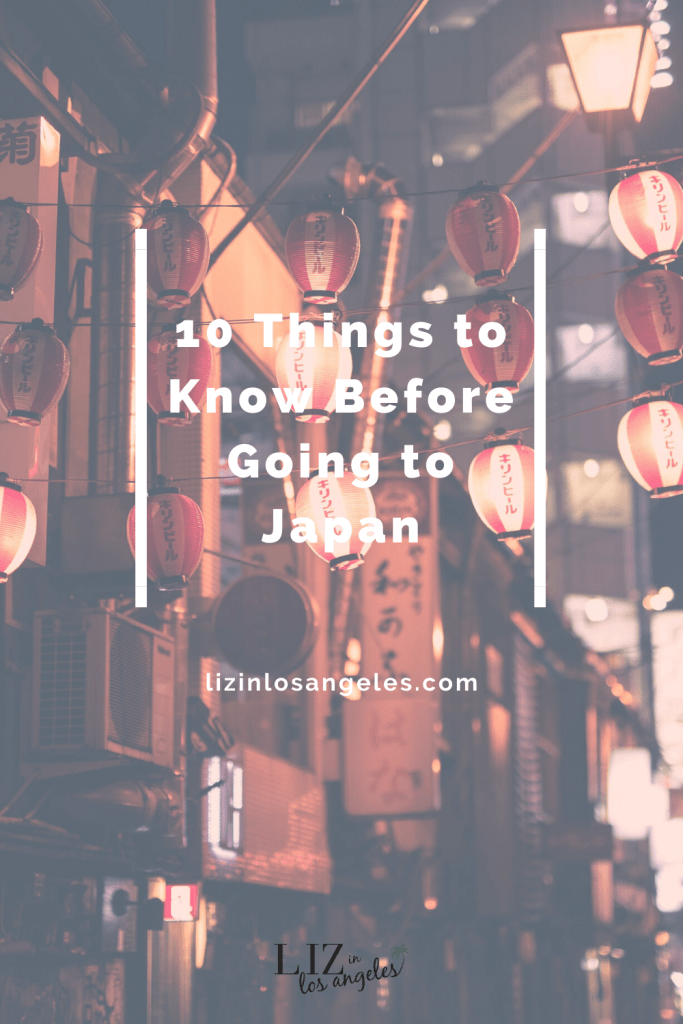 Things to Know Before Going to Japan, a blog post by Liz in Los Angeles, Los Angeles Lifestyle Blogger: an image of Japanese lanterns