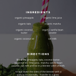 A Homemade Immune Boosting Smoothie You'll Love, a blog post by Liz in Los Angeles, Los Angeles Lifestyle Blogger; an image of a smoothie
