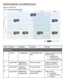 INFORMATION ARCHITECTURE // Developers and QA in particular look to this kind of documentation so that they can effectively plan their approaches. cover their bases, and contribute their critical assessments to help strengthen the technical approach