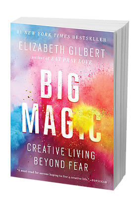 Book Swoon | Big Magic: Creative Living Beyond Fear by Elizabeth Gilbert