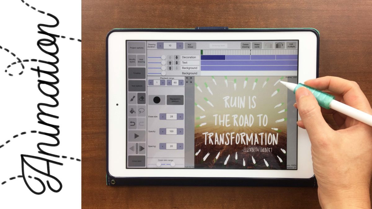 3 Ways to Animate Your iPad Lettering