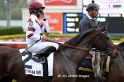 Royal Delta (KY) with jockey Jose Lezcano