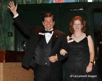 District Governor Matt Kinsey DTM and Jeanine Kinsey DTM