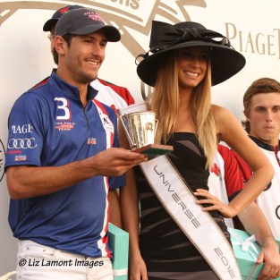 2012 Miss Universe Slovak Republic, Lubica Stepanova, with Nic Roldan