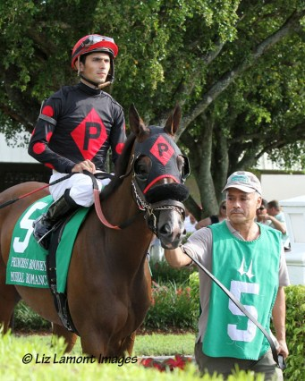 Musical Romance (FL) with jockey Juan C Leyva