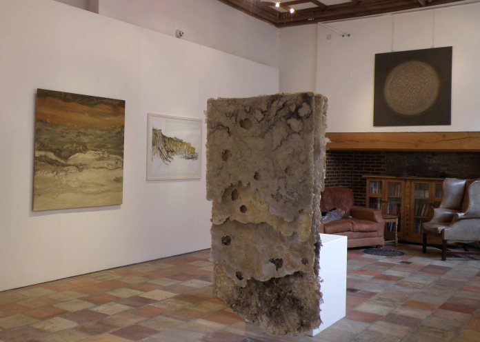 Abrasion. Exhibition view.