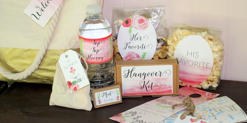 What Should Be In My Destination Wedding Welcome Bag