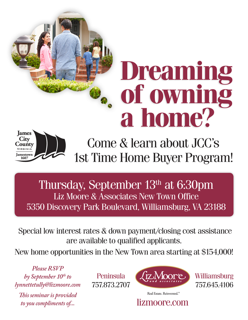 Time 1st Buyer Home Program