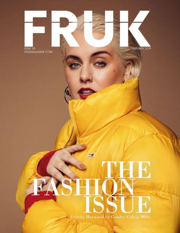 FRUK MAGAZINE COVER STORY STYLED BY LIZ OLUSESAN