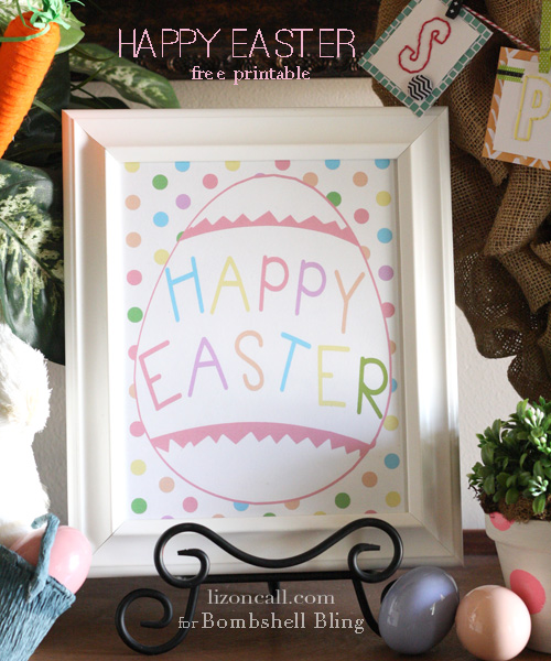 Happy Easter free print 3