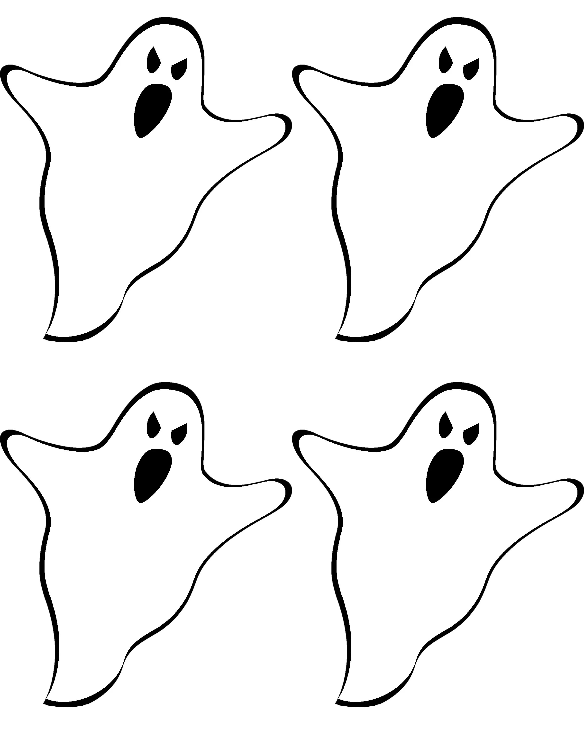 Free Printable Ghost Banner