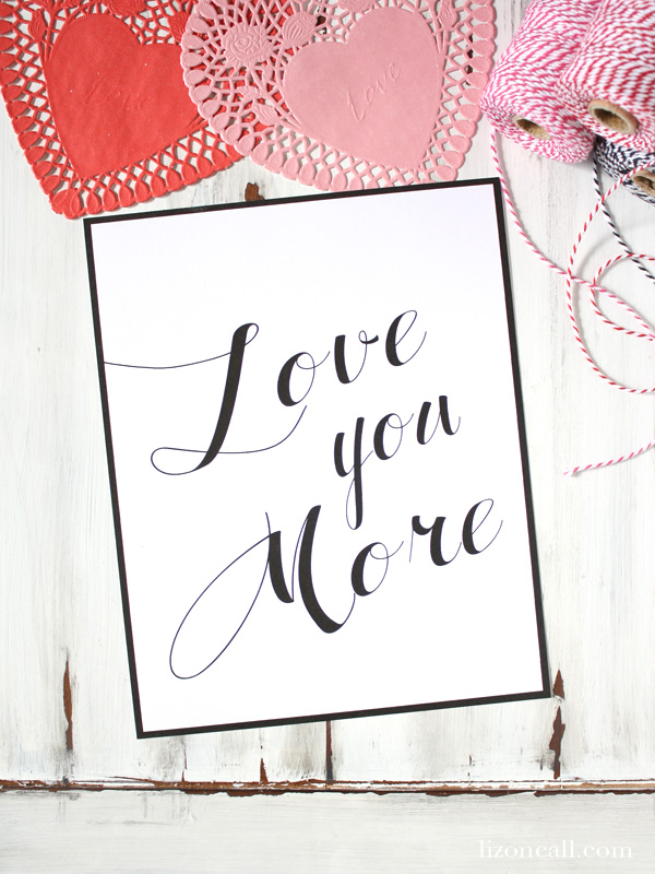 It's just a picture of Universal I Love You Printable